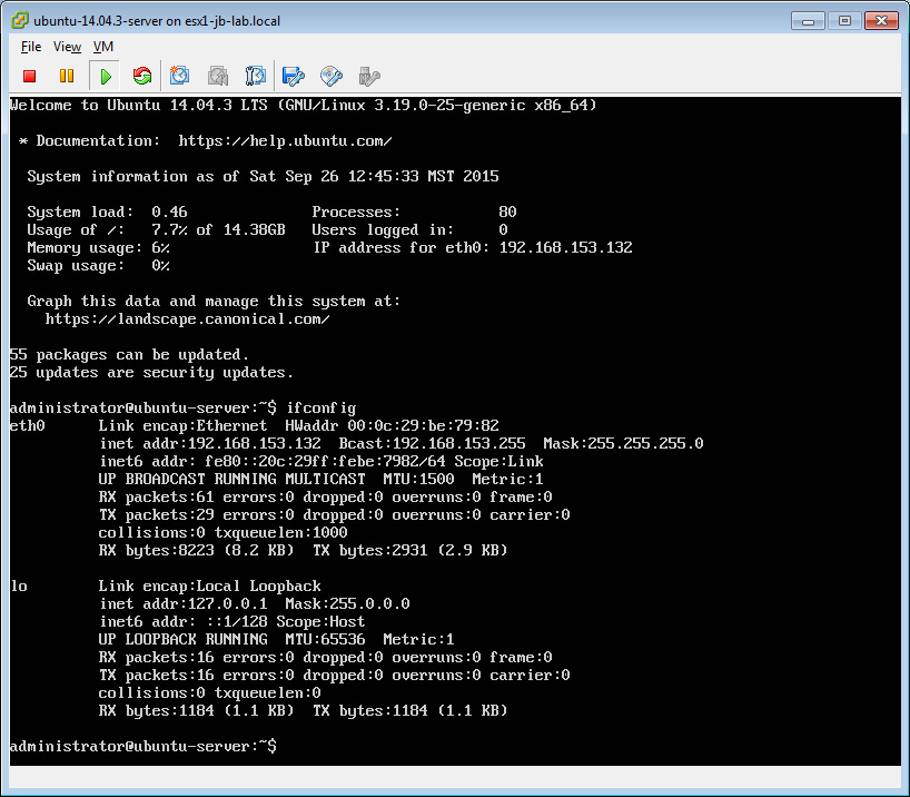 Installing open-vm-tools on Ubuntu Server - JohnBorhek com