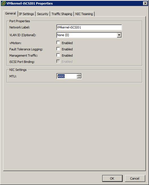 iSCSI with Jumbo Frames and Port Binding - JohnBorhek com