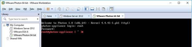 Setting static IP for Photon OS - JohnBorhek com