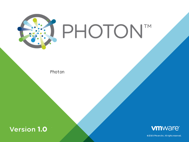 Building a VM with VMware Photon OS