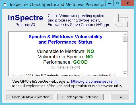Spectre, Meltdown and VMware vSphere