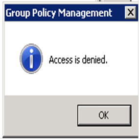 Access is denied